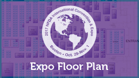 2017 Expo Floor Plan